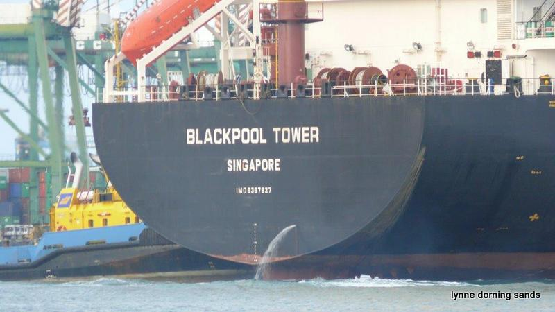 Blackpool Tower ship 02